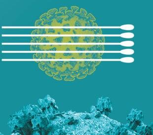 Image: Pooling coronavirus samples