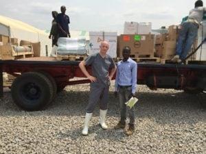 Dr. Ian Goodfellow in Sierra Leone