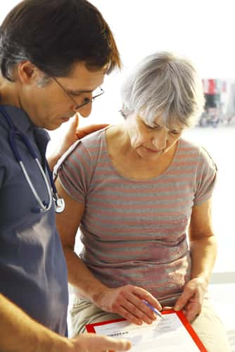 Patient and doctor consulting. Image: Image Point Fr/Shutterstock.com