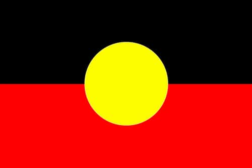 Aboriginal Australian flag