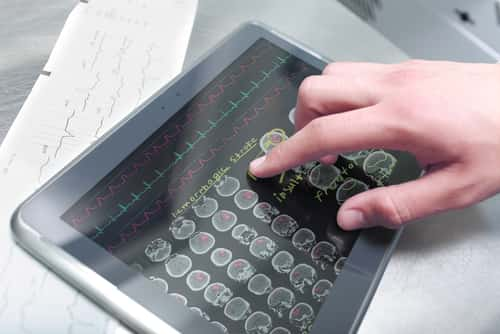 Tablet showing electronic medical records. Image: sfam_photo/Shutterstock.com