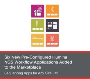re-Configured Illumina NGS Workflow Applications