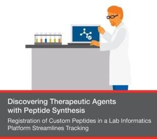 Registration of Custom Peptides in a Lab Informatics Platform Streamlines Tracking