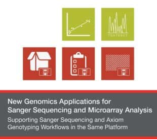 Supporting Sanger Sequencing and Axiom Genotyping Workflows in the Same Platform