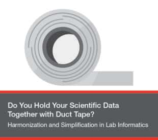 Do you hold your scientific data together with duct tape?