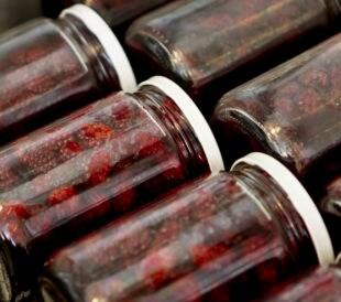 raspberry jars