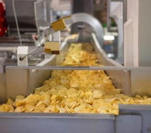 image of potato chip factory