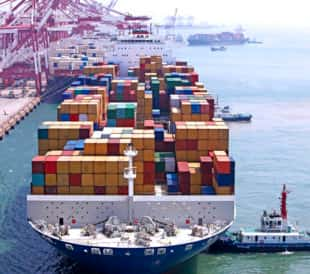 Border Protection by Detecting Radiation on Container Ships