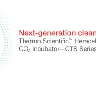 Heracell Vios CR CO2 incubator with dot pattern background