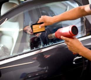 car window tinting adhesive