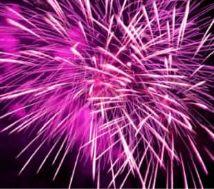 Rubidium Gives Fireworks a Purple Color