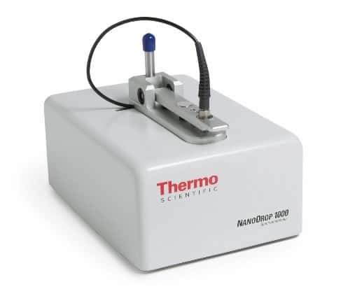 Thermo Scientific NanoDrop UV Vis Spectrophotometer