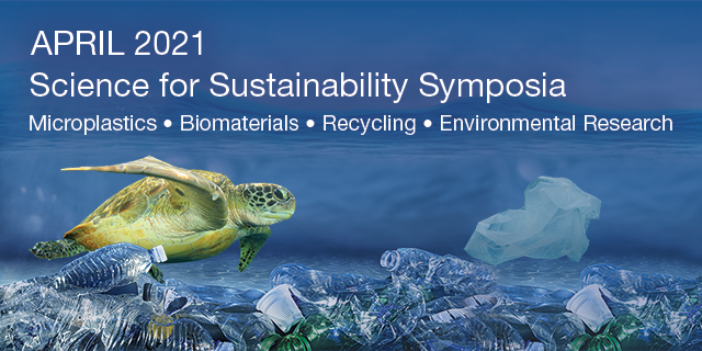 Plastic pollution, microplastics, and biomaterials webinar link