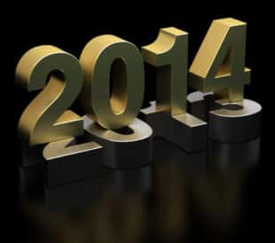 Gold New Year 2014