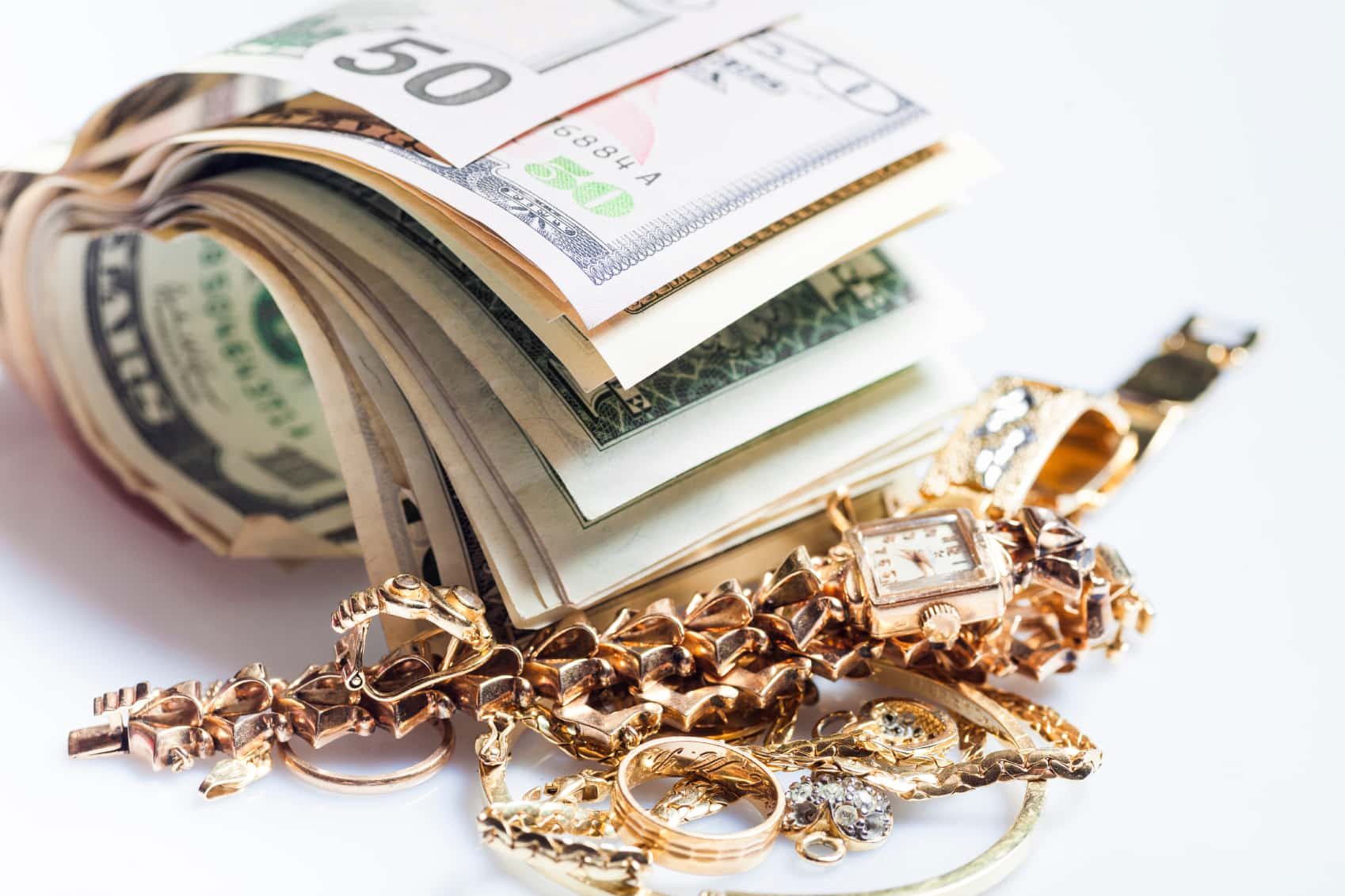What Happens to the Gold After the Old Jewelry is Cashed In?