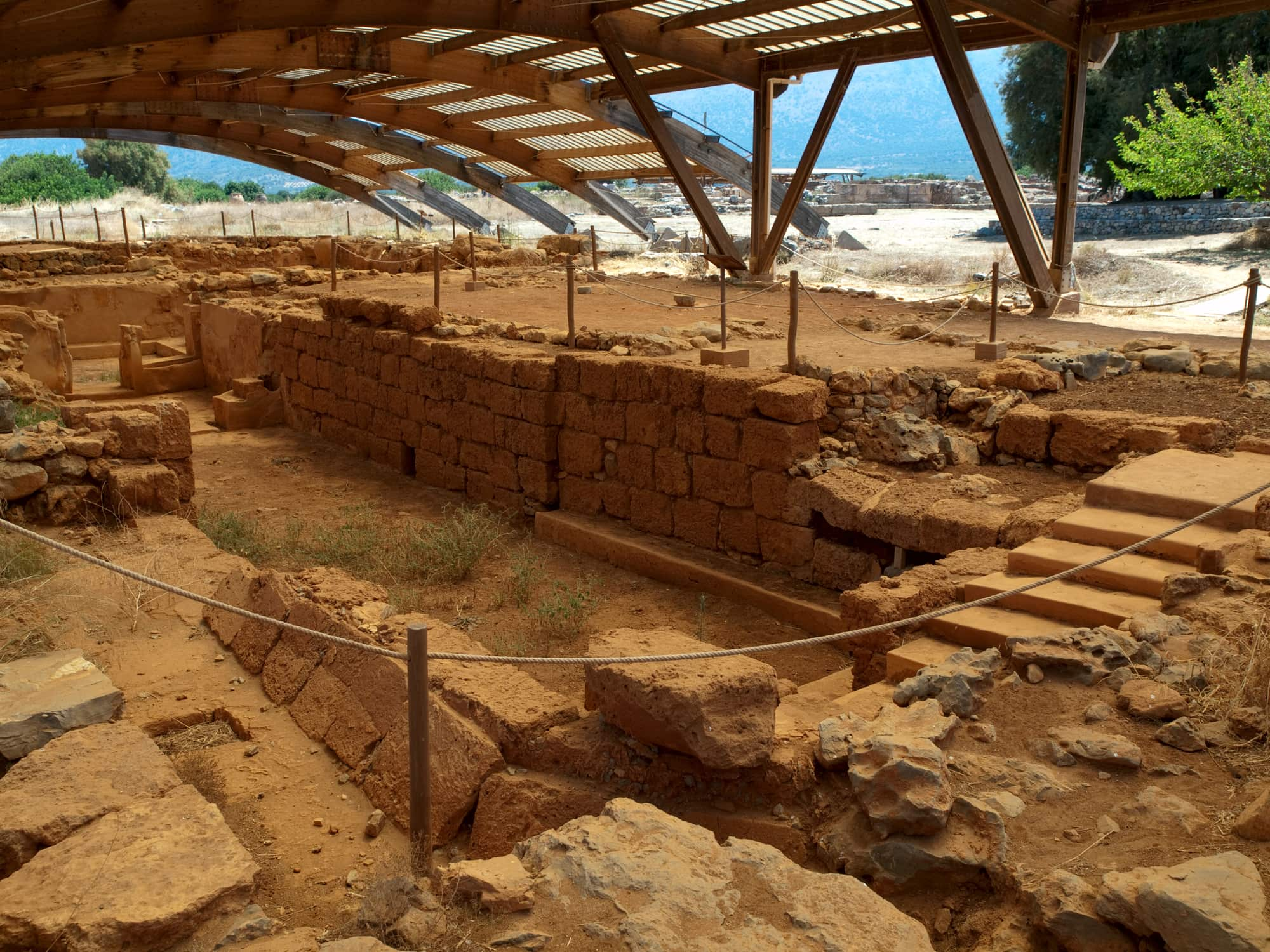 Ruins of Ancient Malia Palace