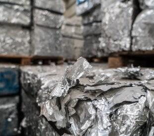 Aluminum scrap metal