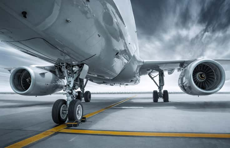 PMI of Metal Parts Crucial to Airplane Safety