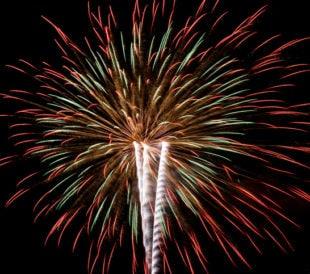 Fireworks Depend on Metals