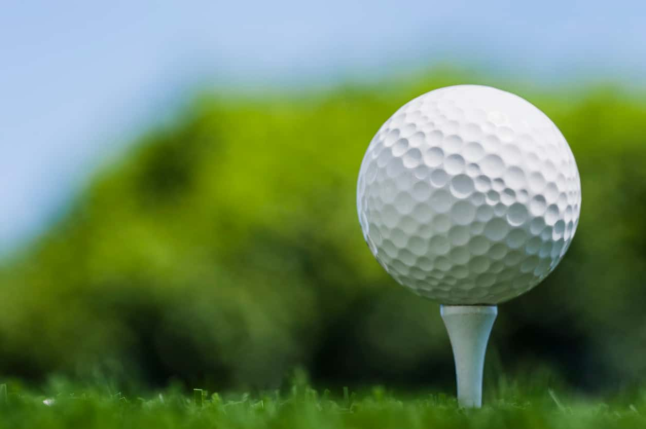 a size golfball Clit the of
