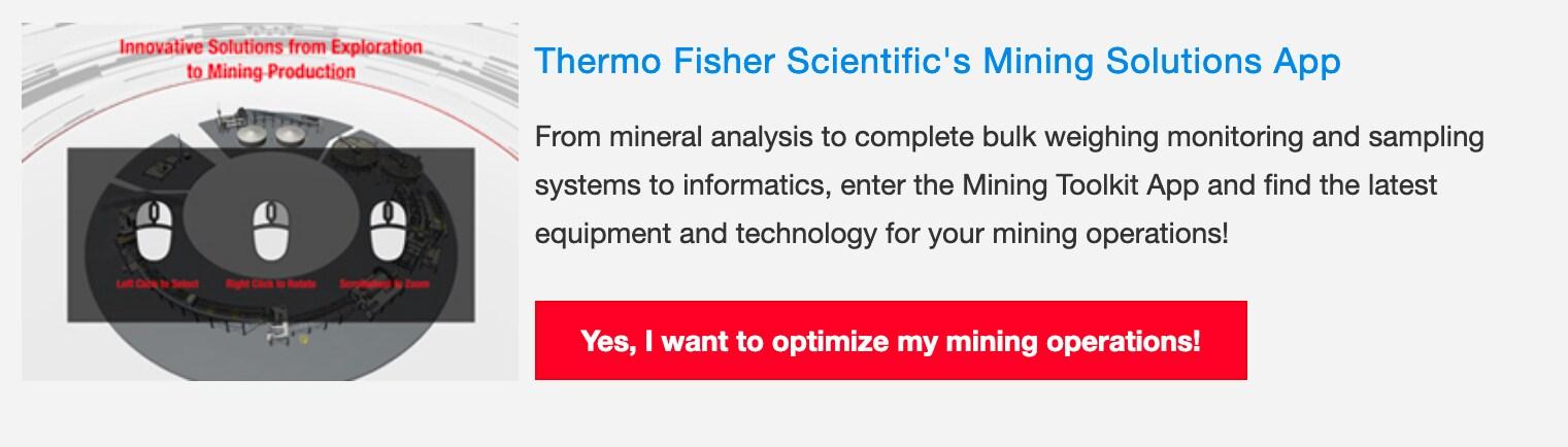 Mining Toolkit App