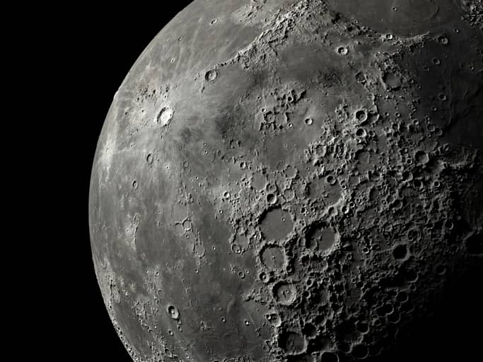 Biomining on the Moon