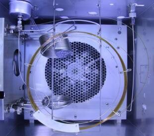 Inside gas chromatography analyzer. Image: tanewpix/Shutterstock.com