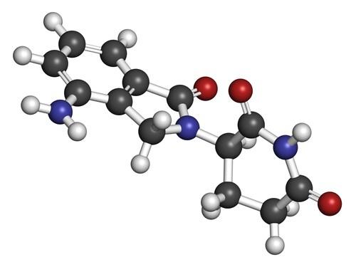 Lenalidomide molecule. Image: molekuul.be/Shutterstock.com