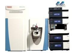 Q Exactive Plus Hybrid Quadrupole-Orbitrap mass spectrometer.