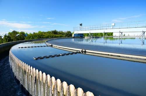Modern urban wastewater treatment plant. Image: Dmitri Ma/Shutterstock.com.