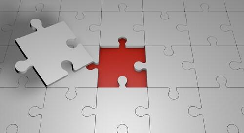 Puzzle background, 3D render, 3D illustration. Image: RP Artworks/Shutterstock.com.
