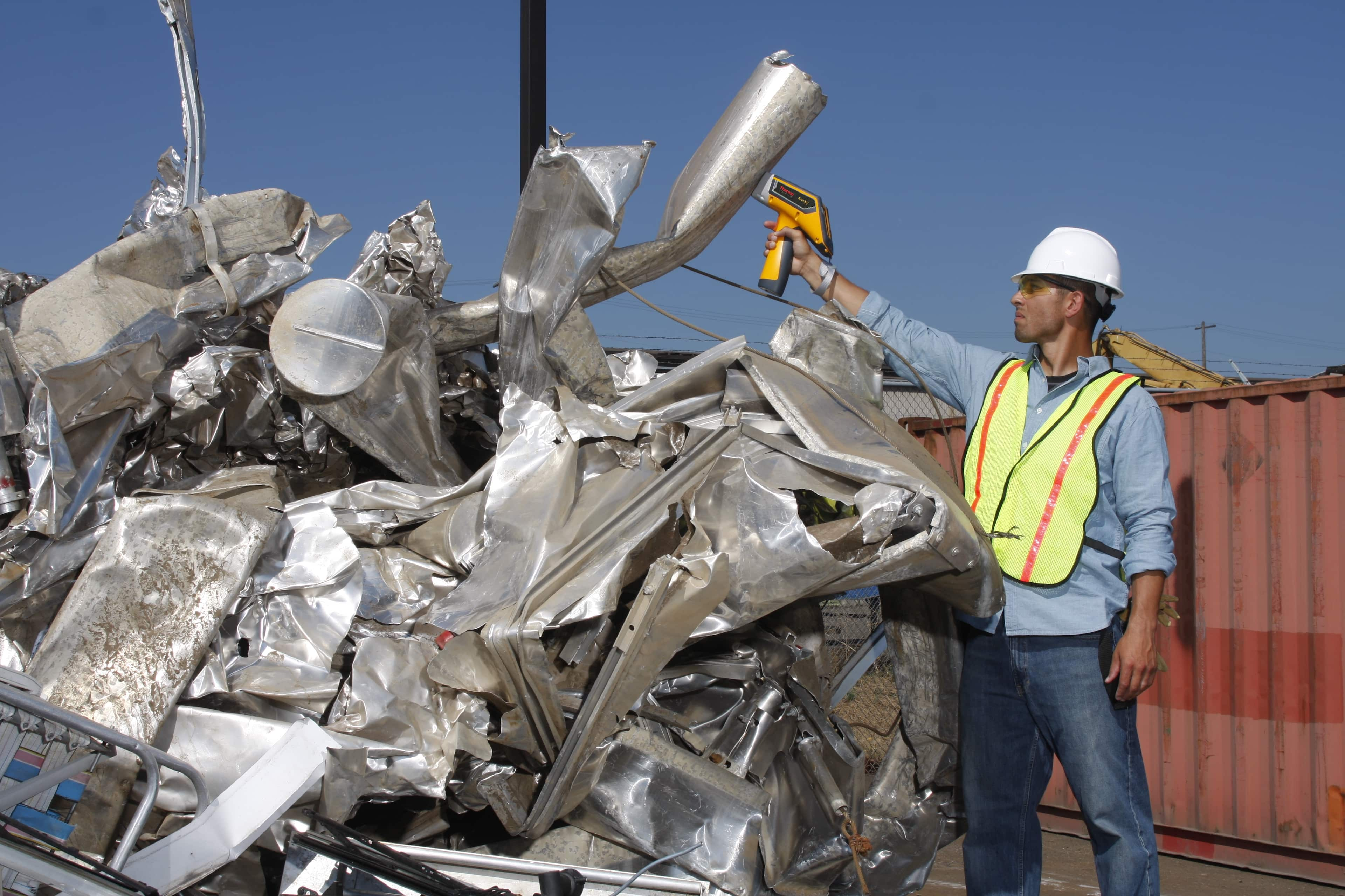A vital tool of scrap metal operations is a handheld XRF analyzer.