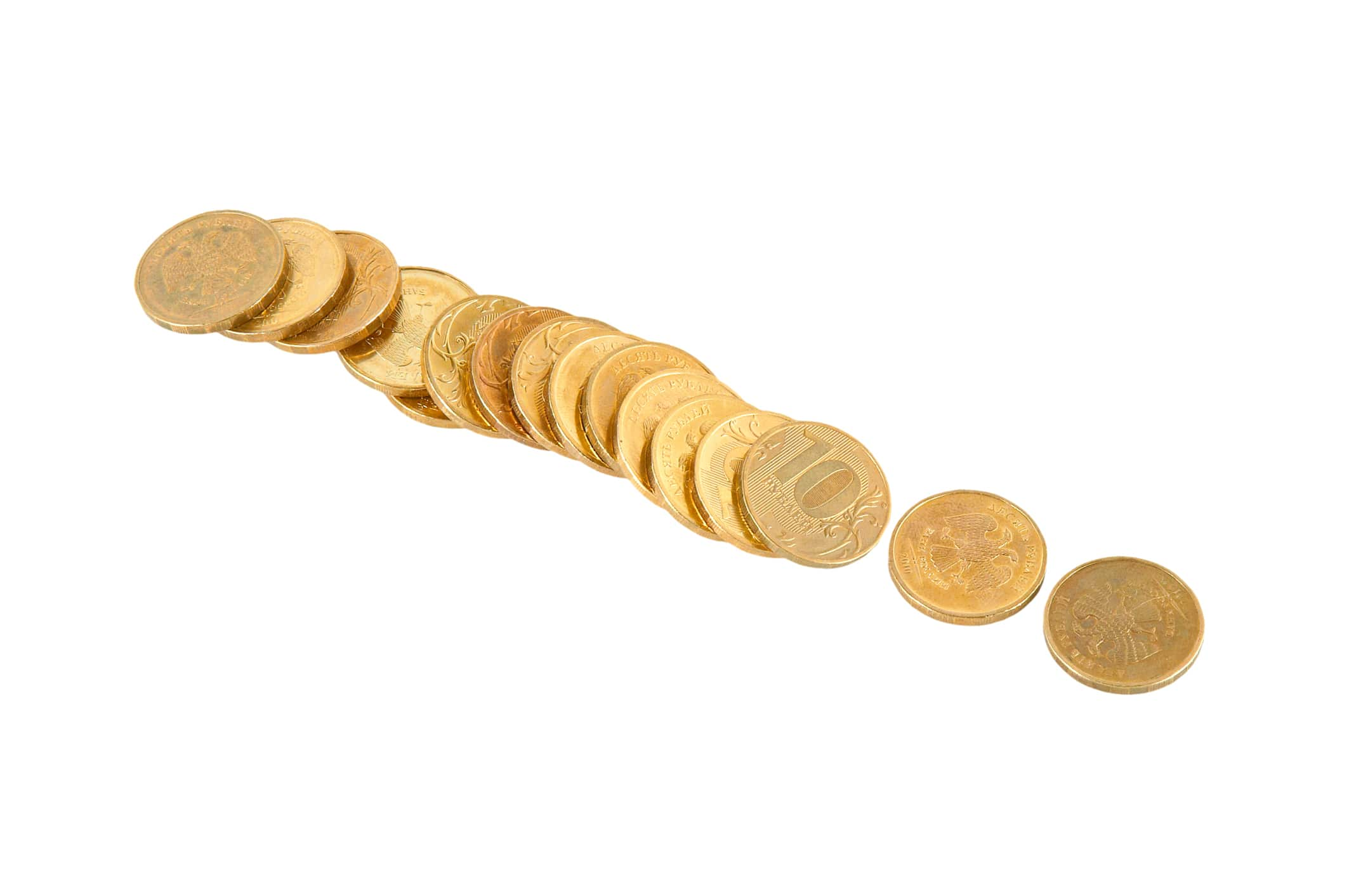 fake numismatic coins being brought into pawn shops.