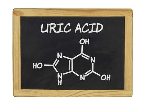 Uric Acid chemical formula