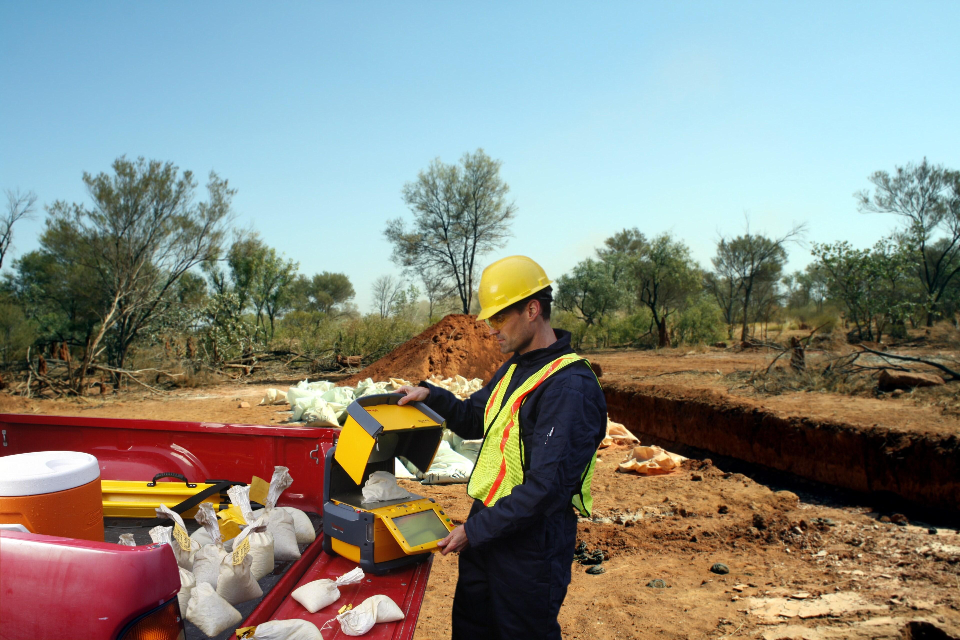 Mining sample bags