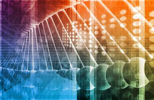 Bioinformatics. Image: Kentoh/Shutterstock.com