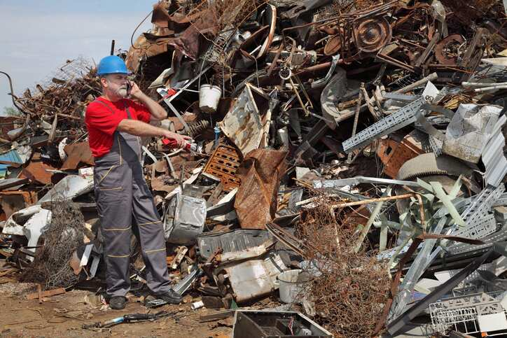 Radiation Threats Lurk in 10 Places in a Metal Recycling Facility