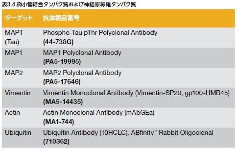 微小管結合タンパク質および神経原線維タンパク質