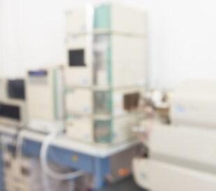 Blurry image of mass spectrometer. Image: anyaivanova/Shutterstock.com
