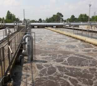 Wastewater treatment plant. Image: Peter Gudella/Shutterstock.com
