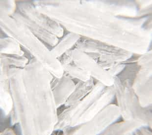 Methamphetamine also known as crystal meth. Image: Kaesler Media/Shutterstock.com.