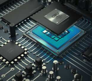 Central computer processors CPU concept. Technology background. High resolution 3D render. Image: Iaroslav Neliubov/Shutterstock.com.