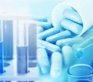 Research chemistry medicine at lab , test drug pharmaceutical. Image: Sisacorn/Shutterstock.com.