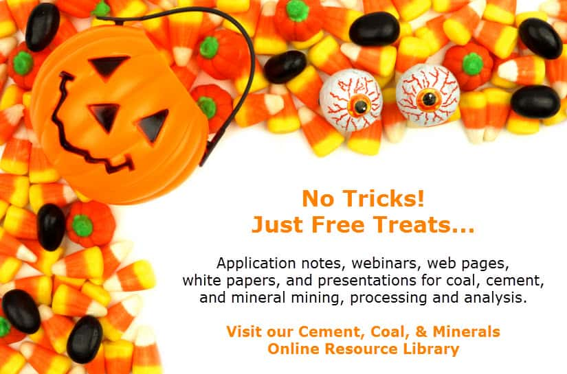 No Tricks  Just Free Cement, Coal, and Mineral Resource