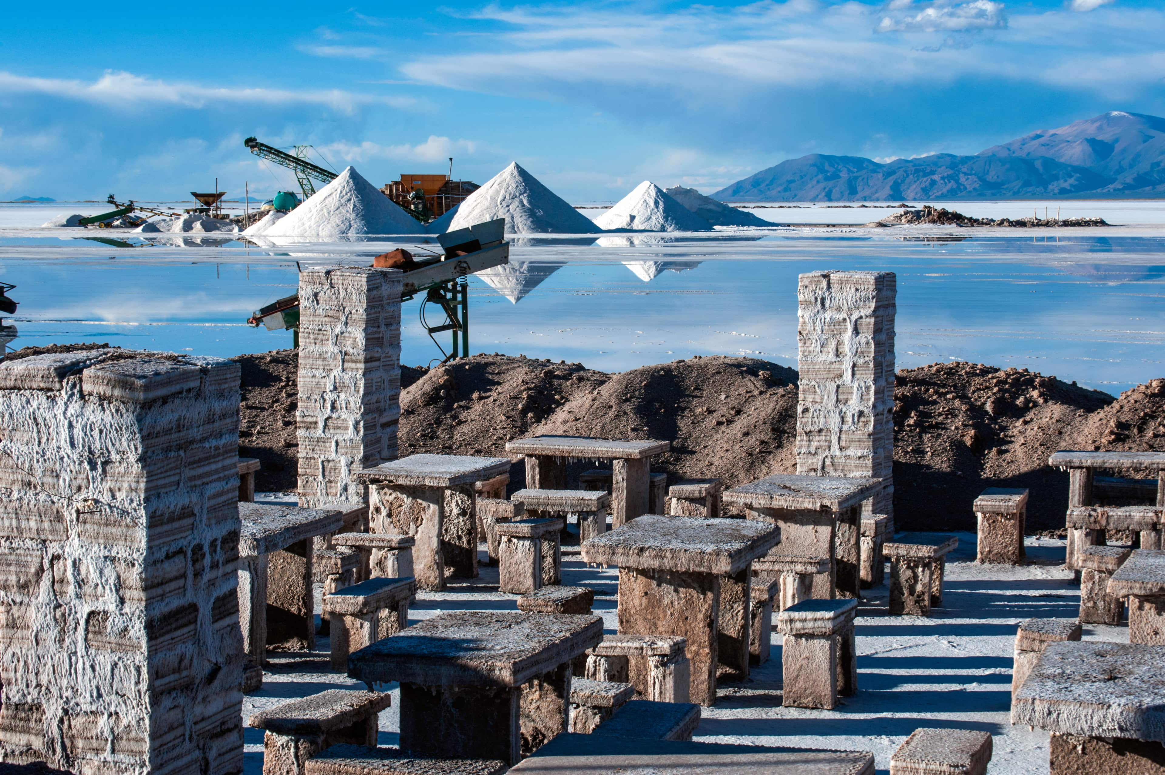 Salinas Grandes, Argentina Andes lithium deposits