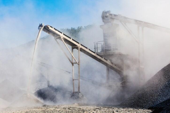 mining dust