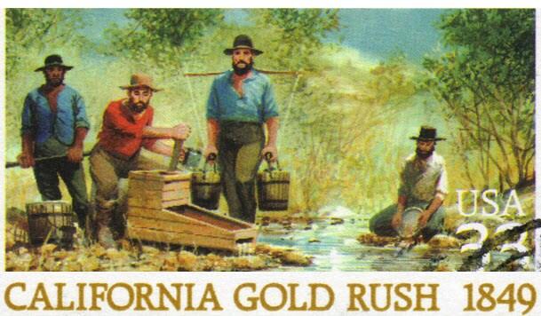 CA gold rush