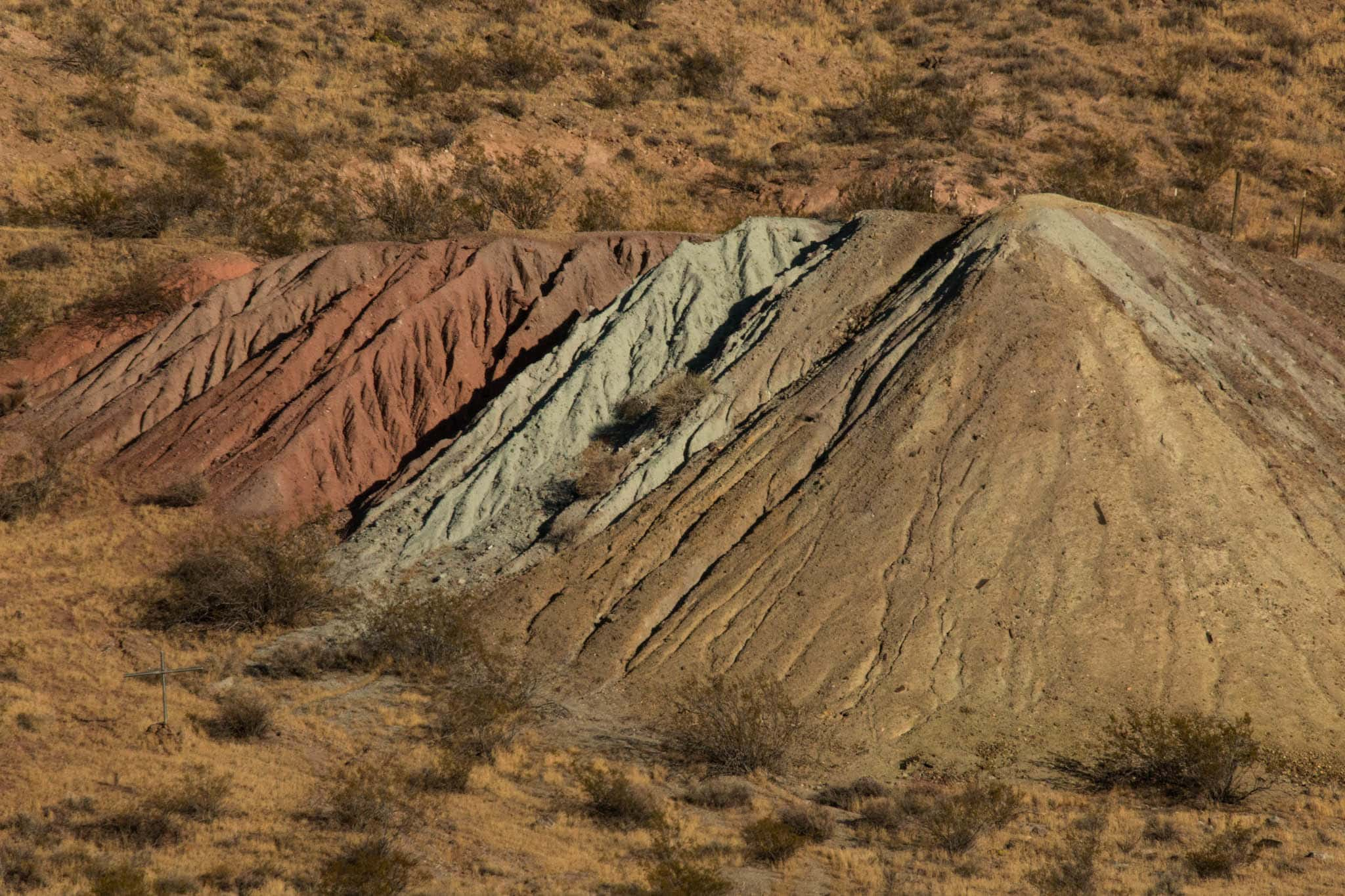 Tailings produced by mining operations