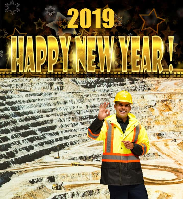 Happy New Year to Mining Readers