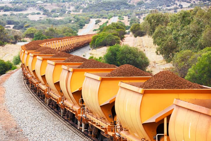 How is the Demand for Iron Ore Related to the Steel Industry?